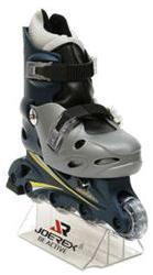 Роликовые коньки JOEREX RO0603 (серебро/черный) - артикул: 571290430