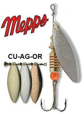 Блесна вращ. MEPPS Aglia Longue AG блистер №1 CLAL20011