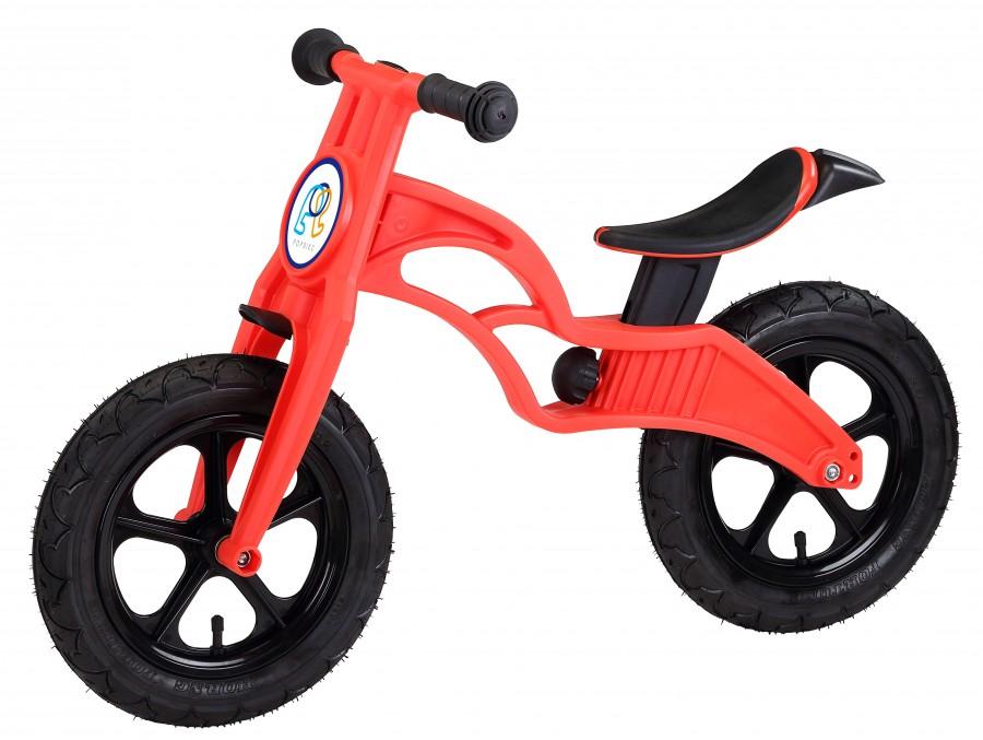Беговел POPBIKE Flash с надувными колесами Red, Велосипеды - арт. 826140390