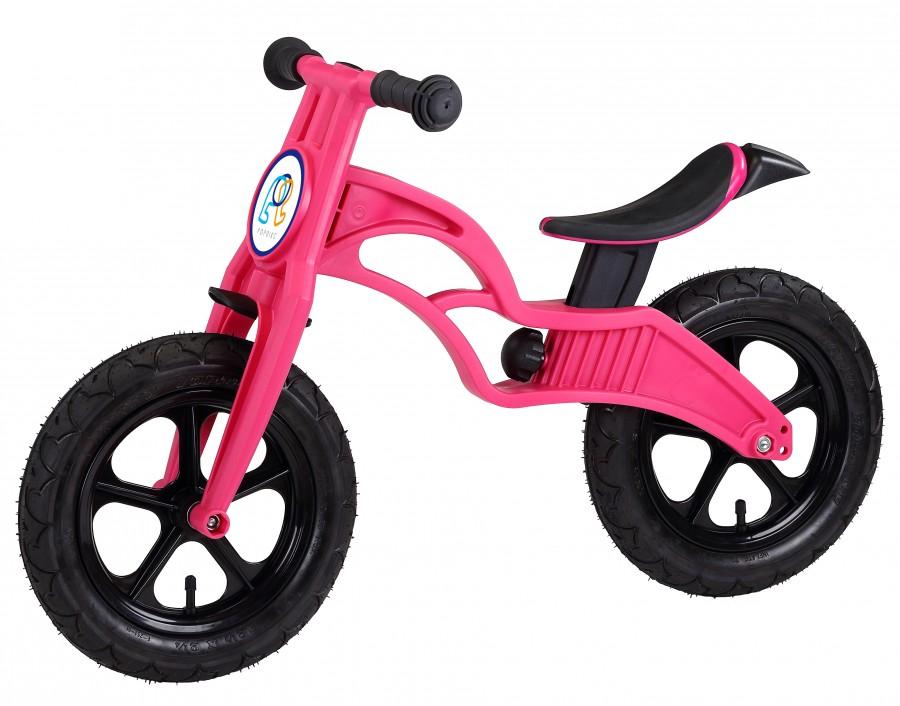 Беговел POPBIKE Flash с надувными колесами magenta, Велосипеды - арт. 826130390