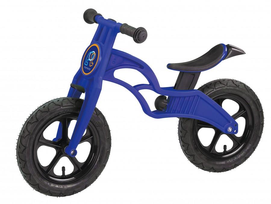 Беговел POPBIKE Flash с надувными колесами Blue, Велосипеды - арт. 826120390