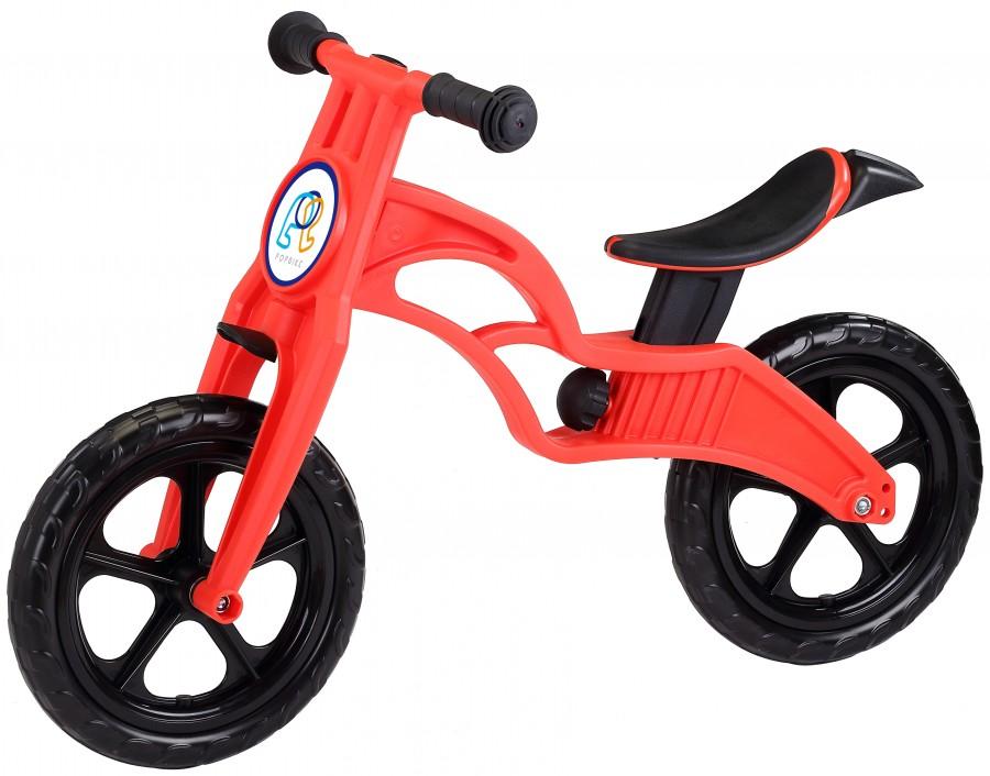 Беговел POPBIKE Sprint с бескамерными колесами Red, Велосипеды - арт. 826170390