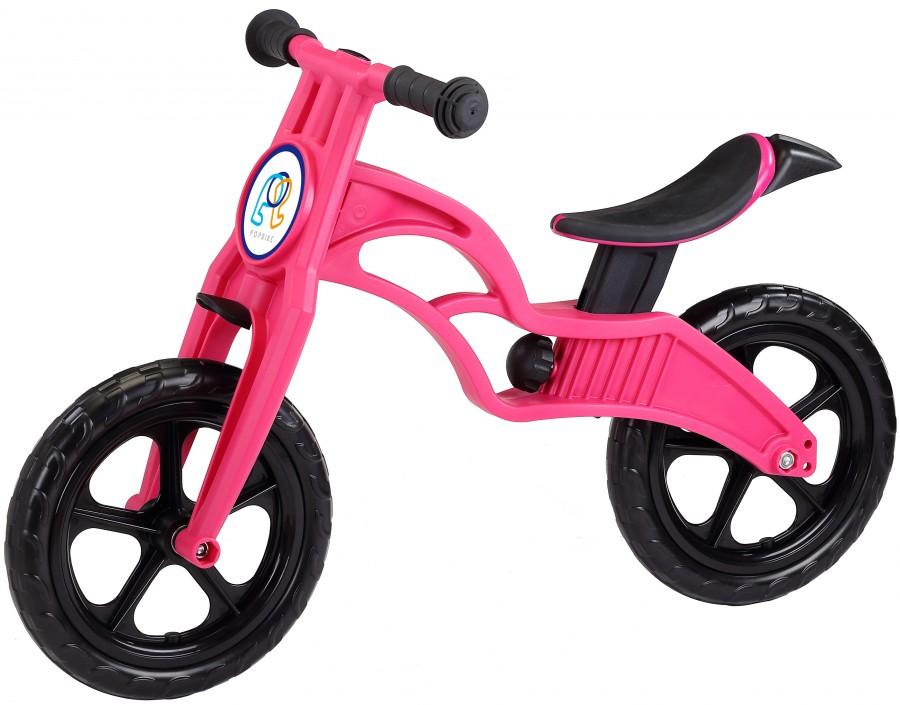 Беговел POPBIKE Sprint с бескамерными колесами magenta, Велосипеды - арт. 826160390