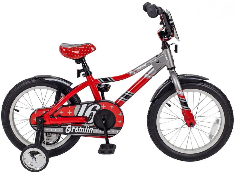Велосипед SCHWINN GREMLIN RED/SILVER - артикул: 825980390