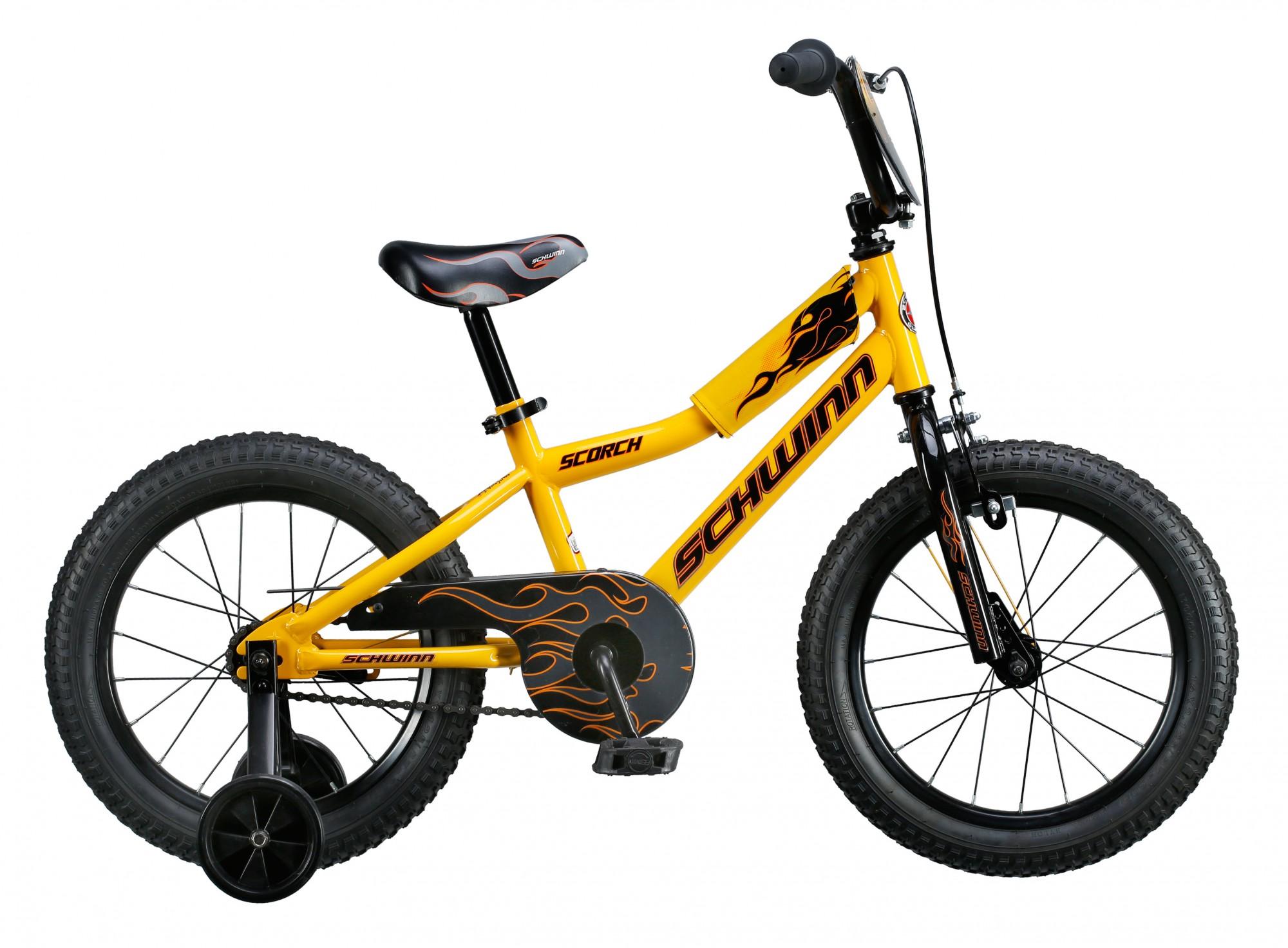 Велосипед SCHWINN Scorch 16 yellow, Велосипеды - арт. 826200390