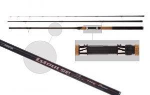 Удилище фидер. Siweida  Impulse  3,9м карбон IM7 (3сек+3хл, до 150г), Удочки и удилища - арт. 220180337
