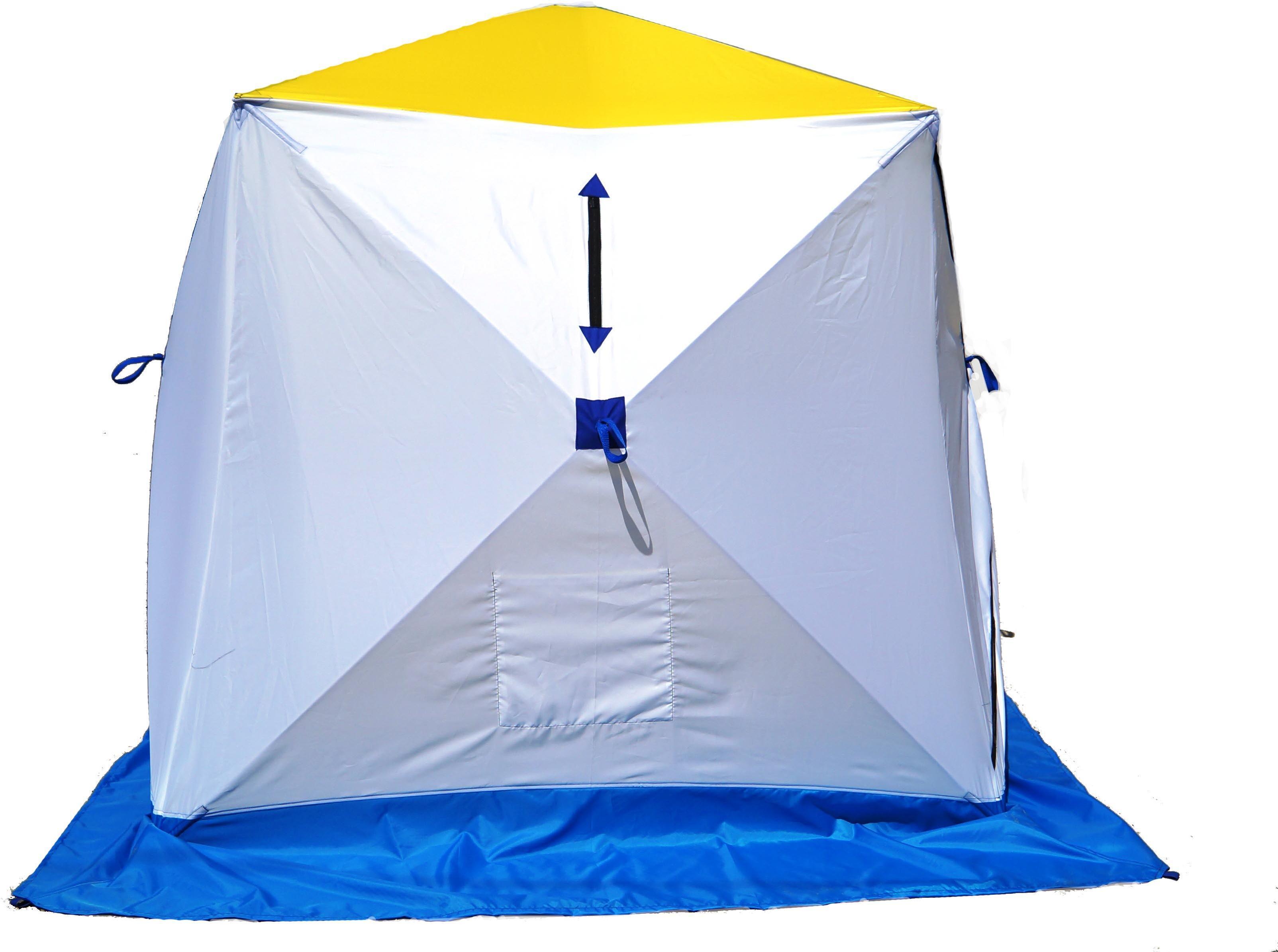 Палатка для зимней рыбалки Стэк Куб-2, Палатки двухместные - арт. 694600320