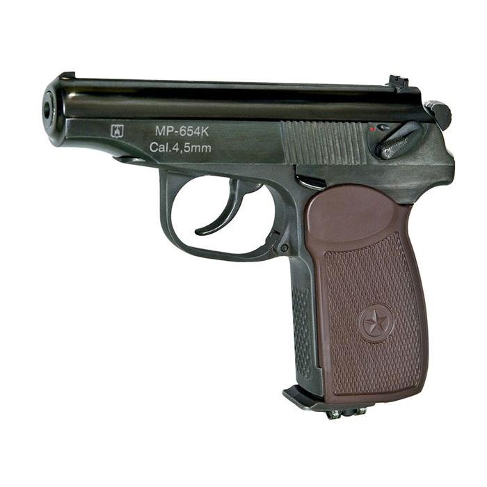 Пневматический пистолет Макарова МР-654К газобаллонный, Пневматическое оружие - арт. 761390445