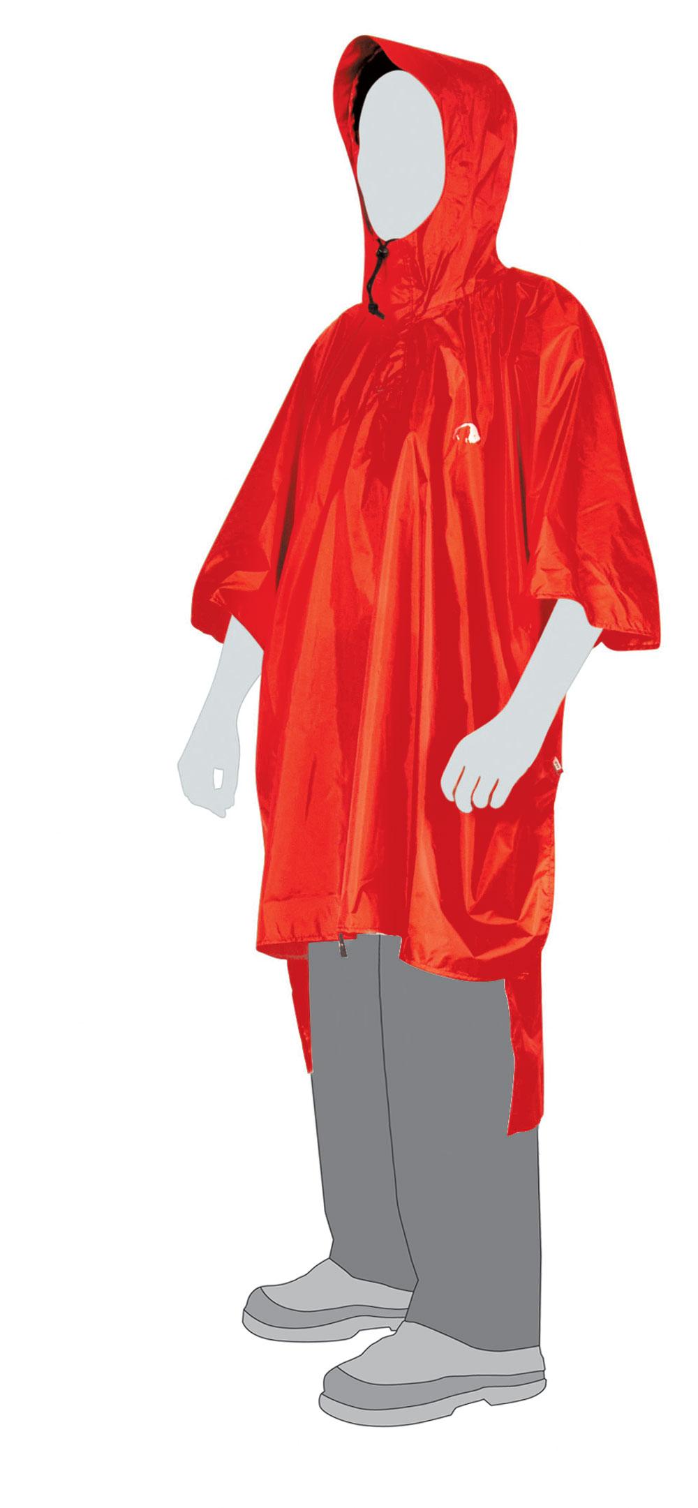 Плащ-накидка Poncho 1 XS-S, red, 2799.015, Плащи влагозащитные - арт. 266860332