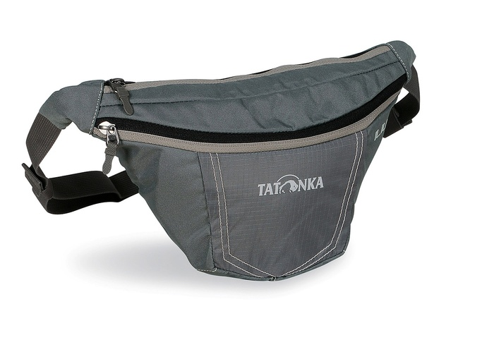 Компактная поясная сумка Tatonka Illium M 2221.043 carbon