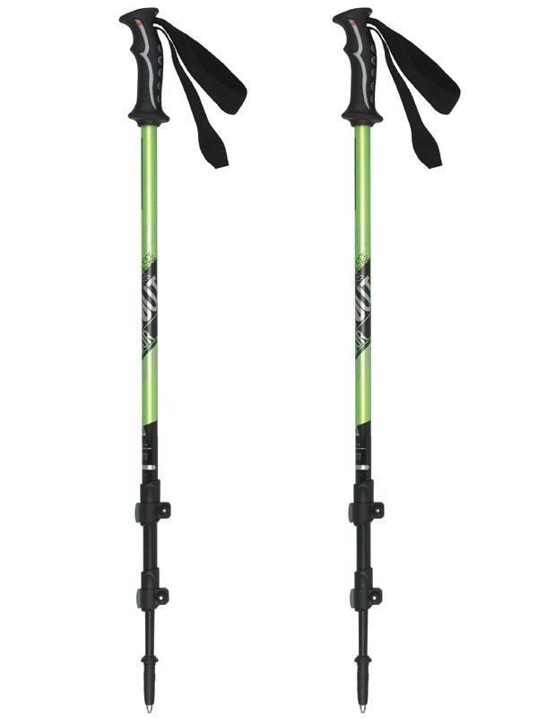 Телескопические трекинговые палки Masters Scout Tour Green 01S0914