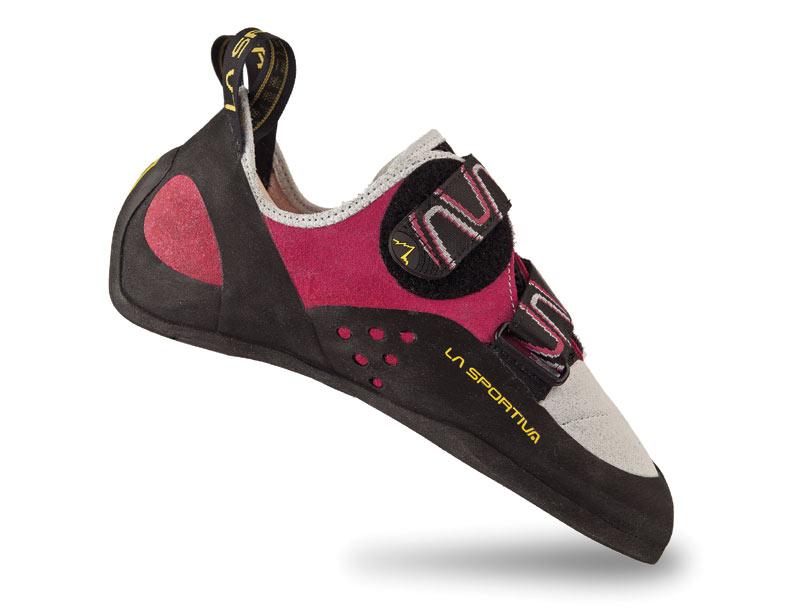 Купить Женские универсальные скальные туфли для любого типа лазания La Sportiva Katana Woman Pink / White