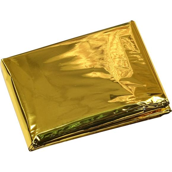 Термоодеяло двухстороннее Gold/Silver Track