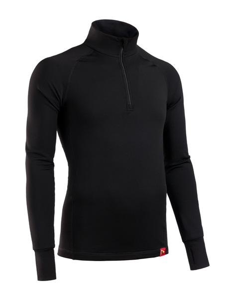 Купить Термобелье куртка мужская BASK MERINO WOOL TECH J черный, Компания БАСК