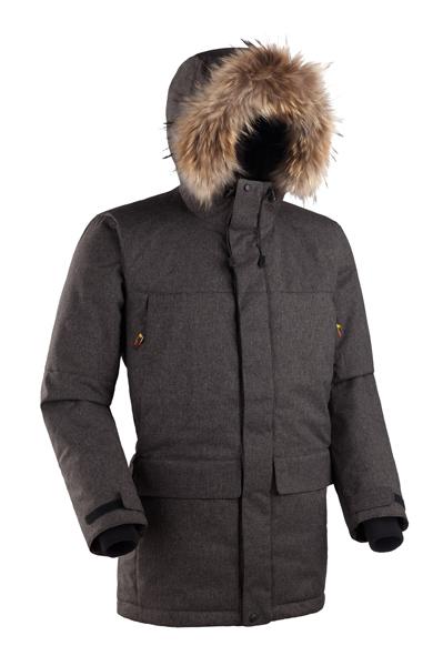 Купить Мужская куртка-парка Баск ARADAN коричневый, Компания БАСК