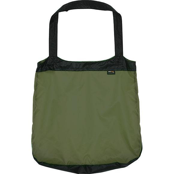 Сумка-авоська черно-оливковая