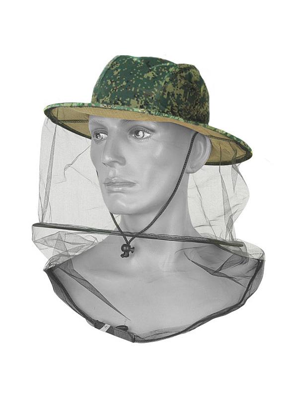Накомарник с каркасом цифровая флора