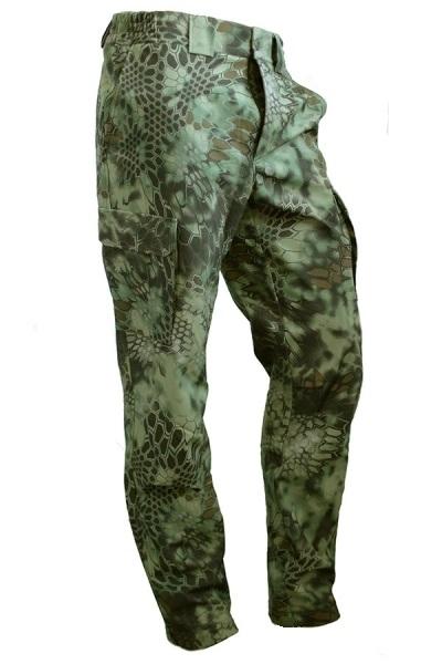 Брюки МПА-28 (ткань Софтшелл), камуфляж питон лес - артикул: 301420346