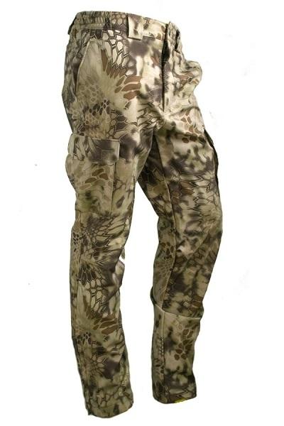 Брюки МПА-28 (ткань Софтшелл), камуфляж питон скала