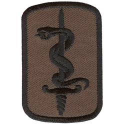 Купить Термонаклейка -1177 30-я Медицинская Бригада вышивка, Компания «Сплав»