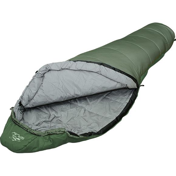 Спальный мешок Expedition Junior 250 зеленый, Кемпинговые (Лето) спальники - арт. 137430372