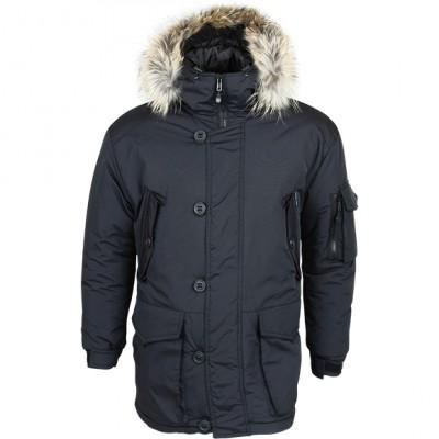 Куртка Аляска черная каматт