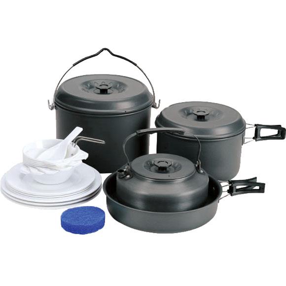 Набор посуды 2 кастрюли, 1 сковородка, 1 чайник (6-7 персон), Чайники - арт. 151510172