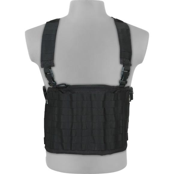 Компактный модульный нагрудник черный, Разгрузки - арт. 23810194