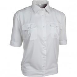 Купить Рубашка форменная женская, короткий рукав, белая, Компания «Сплав»