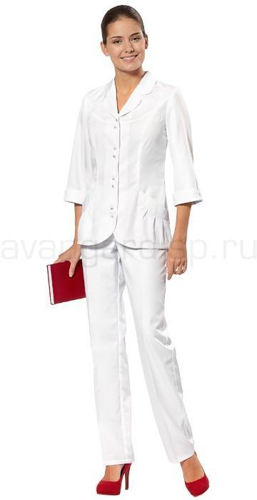 Комплект одежды медицинской женской Ария(блуза и брюки)