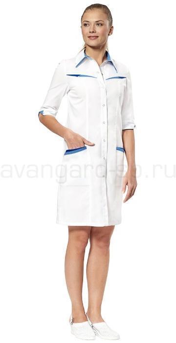 Халат медицинский женский Аврора