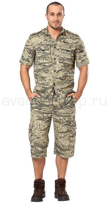 Рубашка Джагер, короткий рукав, (пустыня)