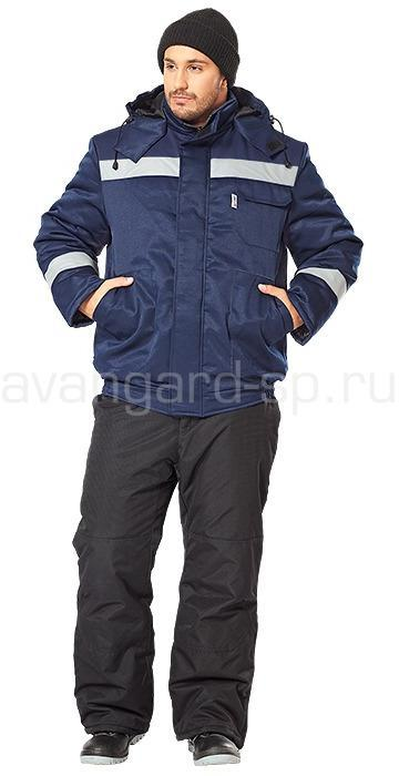Куртка Бригада утепленная (т.син.)