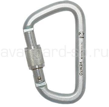 Карабин стальной Стальной универсальный с муфтой keylock 0012