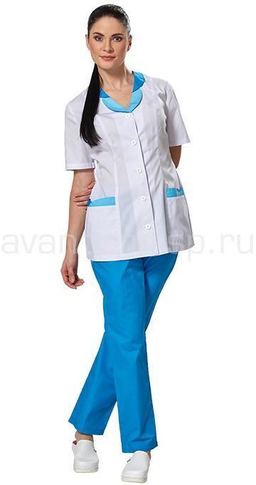 Костюм женский L6102 (вас-гол), Медицинские костюмы - арт. 465170249