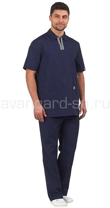Комплект мужской Аура, Медицинские костюмы - арт. 488320249