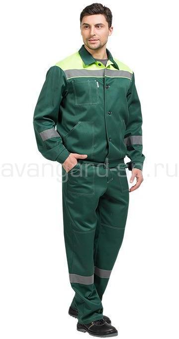 Костюм «Легион» New брючный (зеленый-лайм)