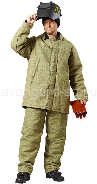 Костюм сварщика утепленный Аргон, Костюмы сварщика - арт. 457370246