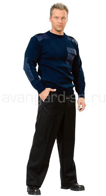 Джемпер офицерский синий