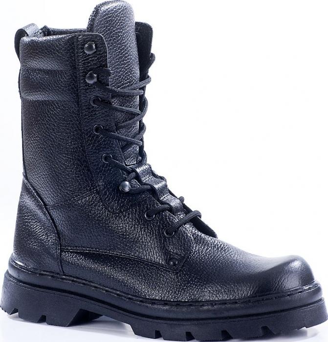 Ботинки с высокими берцами СИГМА кожа 102