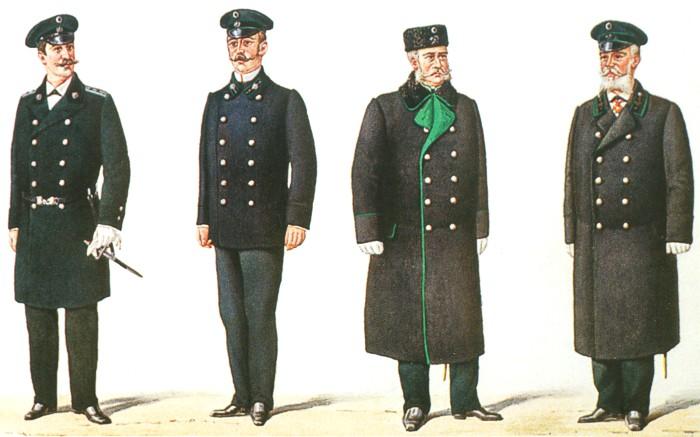 Чиновники царской охранки форма одежды картинки