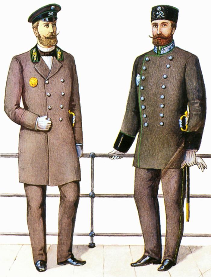 чиновники царской охранки форма одежды картинки телезрителей