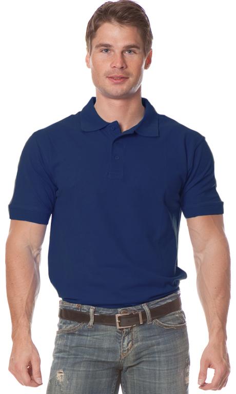 Купить Рубашка Поло с коротким рукавом цвет темно-синий, Энергия спецодежда