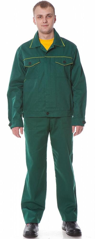 Костюм УНИВЕРСАЛ2 (курт.+п.комб.), ткань Смесовая, цвет зел.-желт., Рабочие костюмы - арт. 1108590257