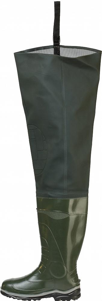 Сапоги болотные с тканевой надставкой Оронго, Сапоги - арт. 1111330175