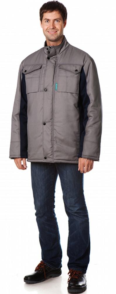 Куртка утепленная Оливер цвет Св.серый-т.синий, Куртки - арт. 1108350156