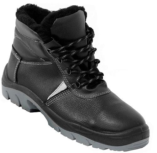 Ботинки кожаные ПУ+ТПУ утепленные, Рабочая обувь - арт. 1107740242