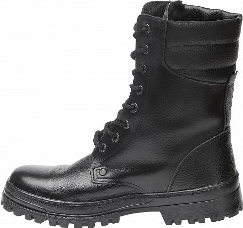 Ботинки кожаные с высокими берцами Омон, Ботинки с высокими берцами - арт. 1071220245