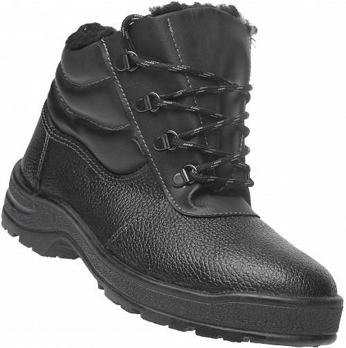Ботинки кожаные утепленные с металлическим подноском Профи, Рабочая обувь - арт. 1109250242