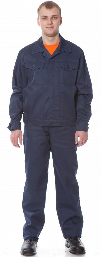 Костюм Универсал 1 (куртка+брюки) цвет Т. Синий, Рабочие костюмы - арт. 1108520257